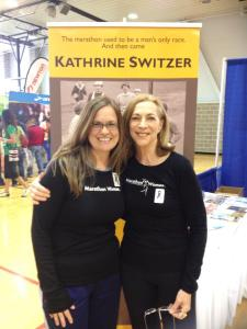With KVSwitzer at the Ill Marathon Expo